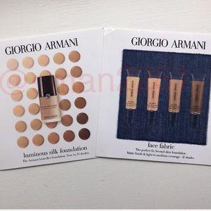 🔝4 for $15💛Giorgio Armani 2Pc (8) Foundation Set